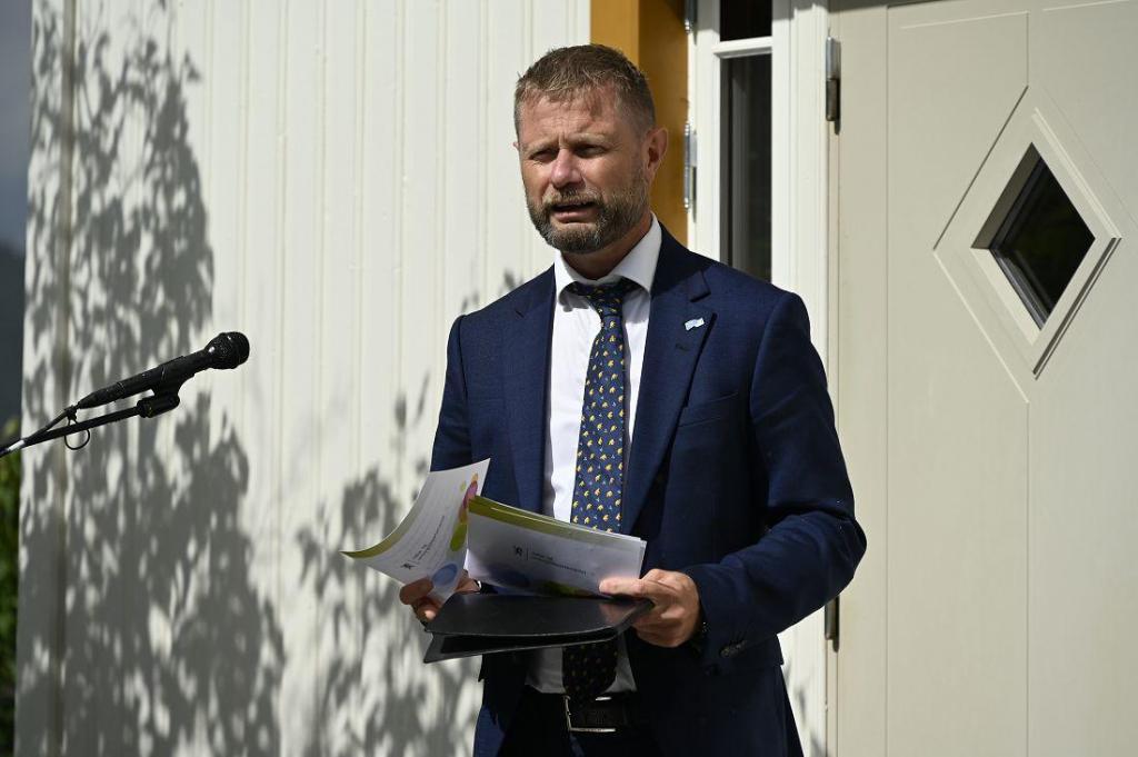 Helse og omsorgsminster Bent Høie. Foto: Arne G. Perlestenbakken