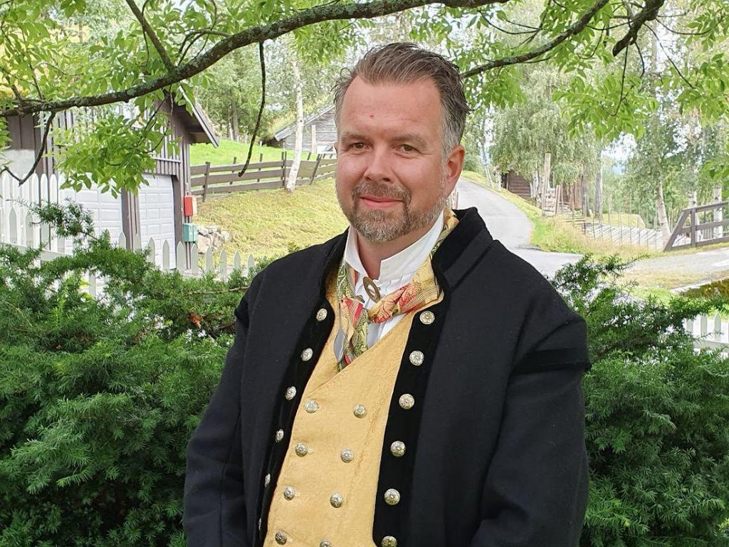 Vegard Vestrom er leder i Hedalen bygdeutvalg. Foto: Arne Heimestøl