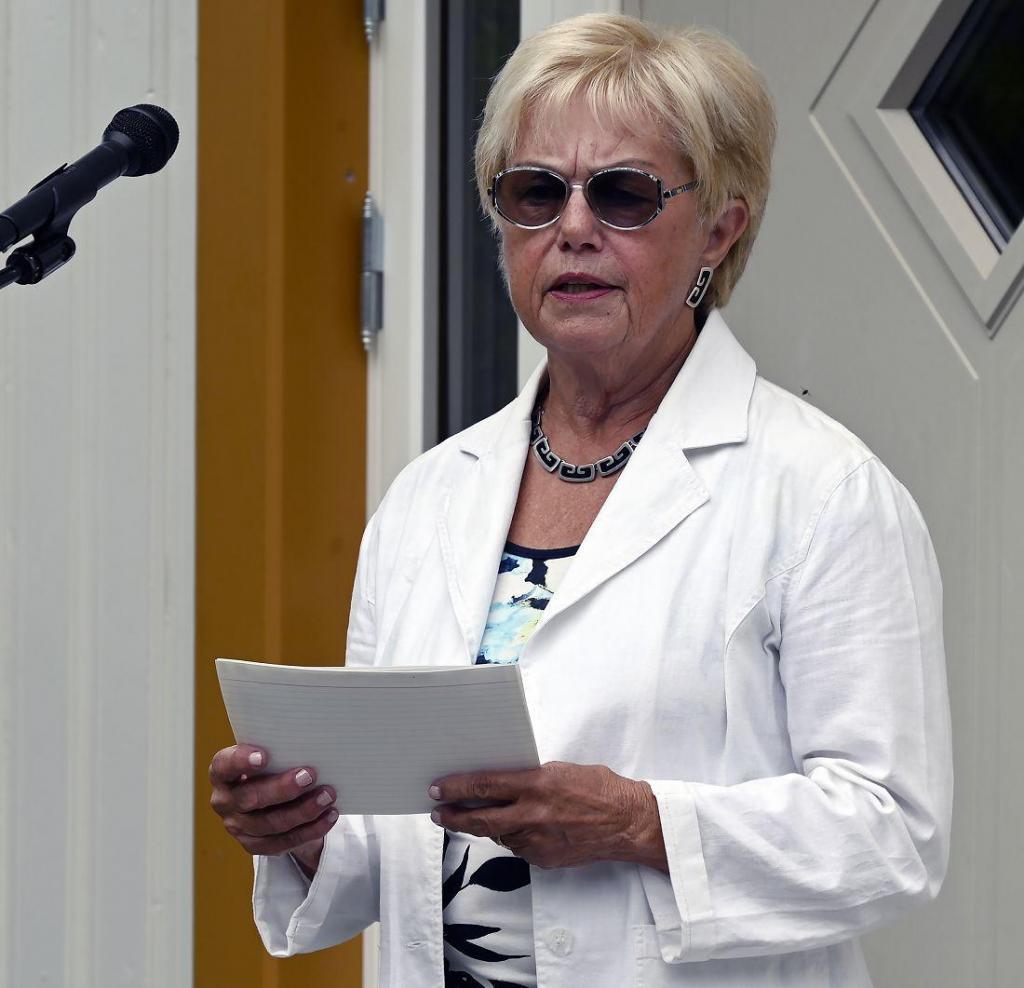 Professor ved Norges idrettshøgskole, Marit Sørensen, er medlem av styret ved Fekjær psykiatriske senter. Foto: Arne G. Perlestenbakken
