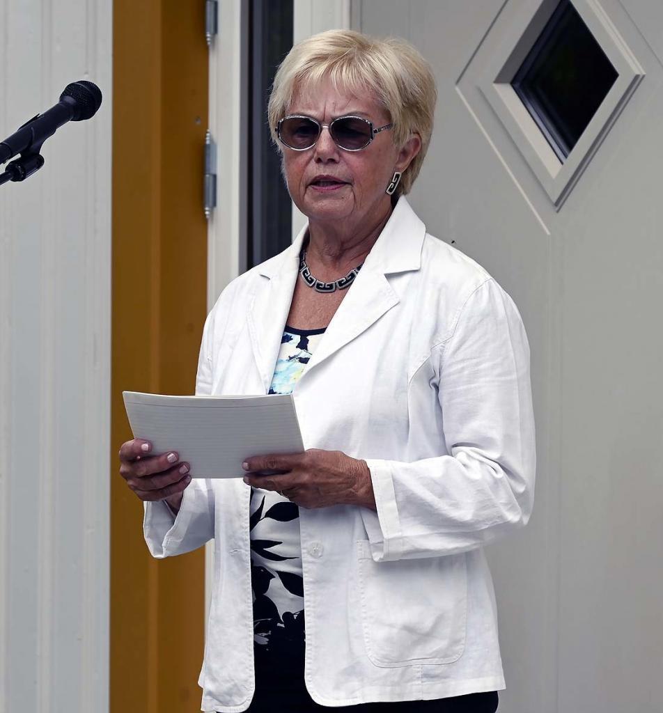 Prof. Marit Sørensen hilser fra styret i Stiftelsen Fekjær