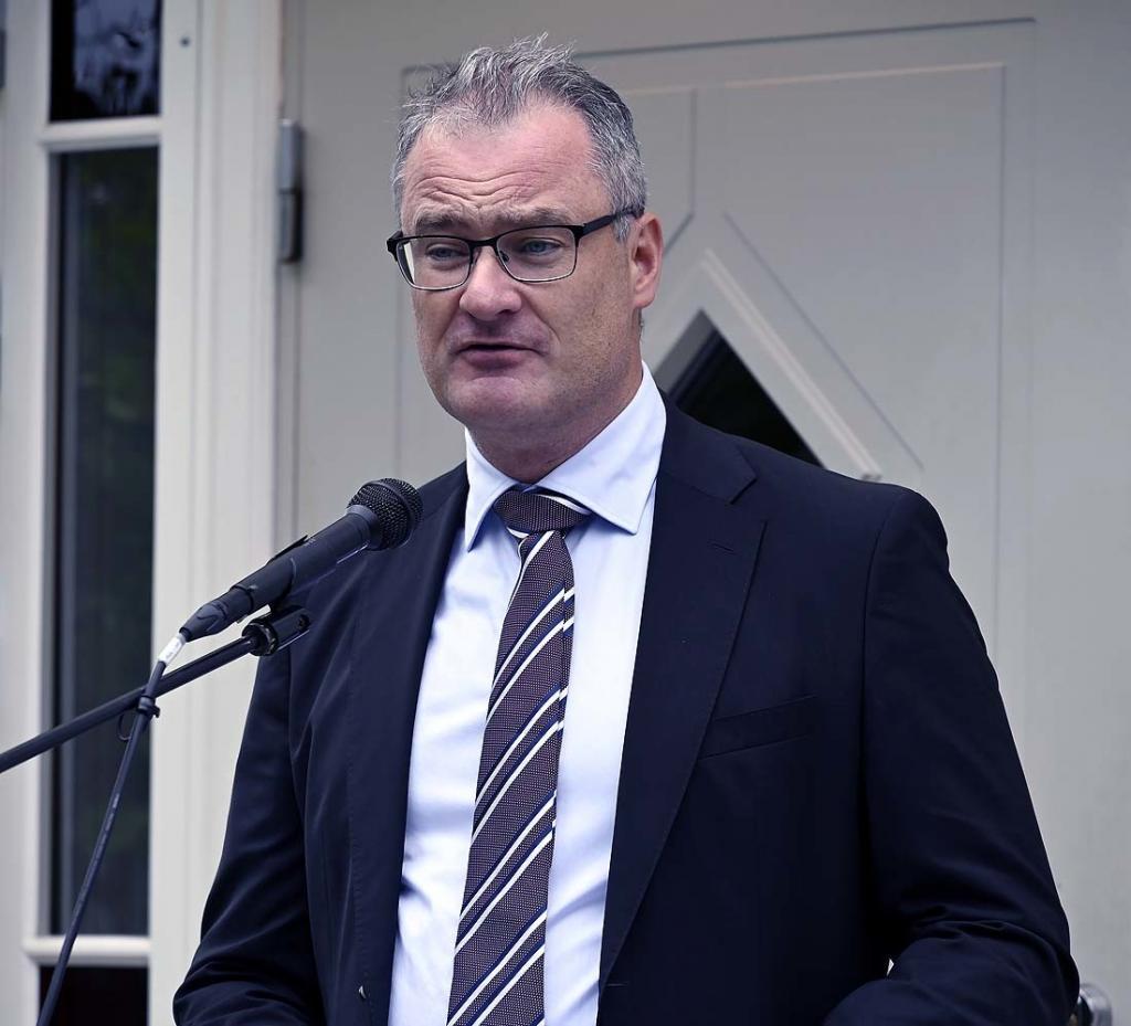 Adm. dir. Jan Frich hilser fra Helse Sør-Øst RHF