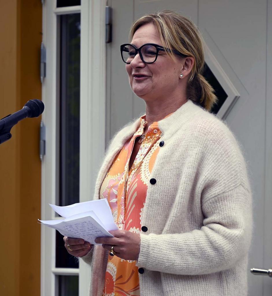 Dir. B Thorsen-Dahl hilser fra Sykehuset Innlandet HF