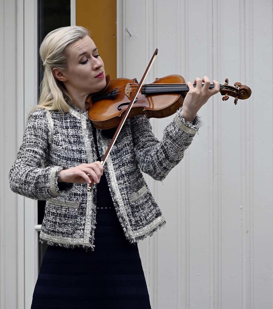 Fiolinist Eldbjørg Hemsing