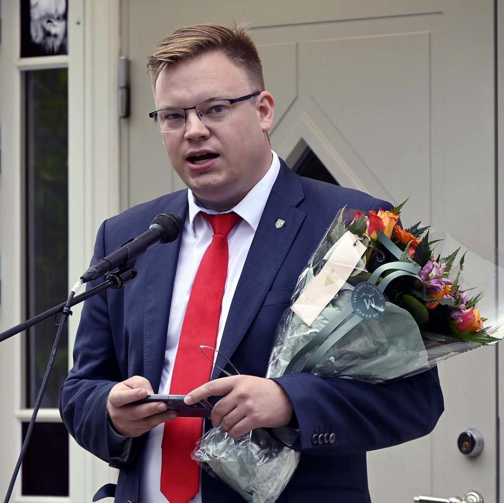 Fylkesordfører Even A. Hagen Hilser fra Innlandet fylkeskommune