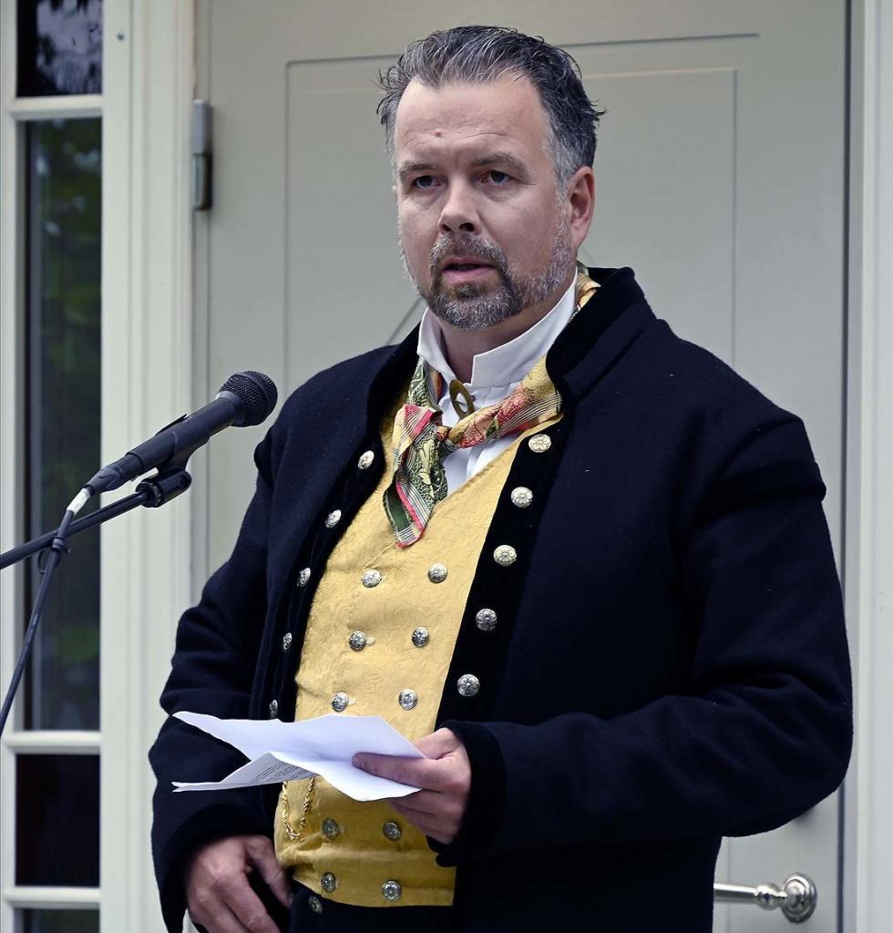 Leder Vegard Vestrom hilser fra Hedalen Bygdeutvalg