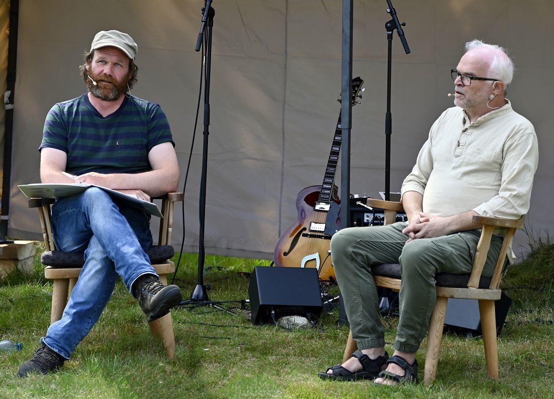 Cato Skimten Storengen og Arild Haglund. Foto: Arne G. Perlestenbakken