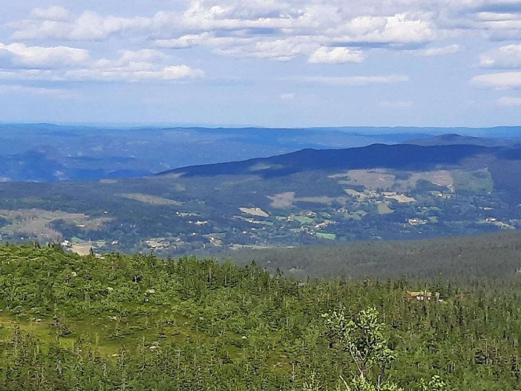 Utsikt fra Busufjell