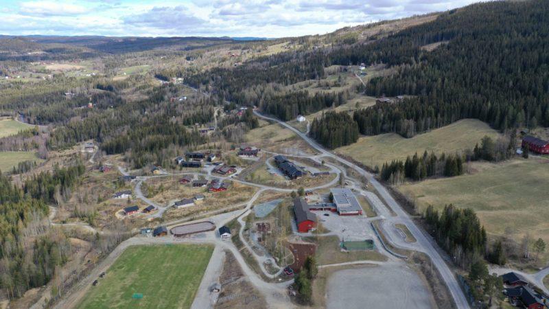 Utsikt over deler av Hedalen. Foto: Helge Nordby